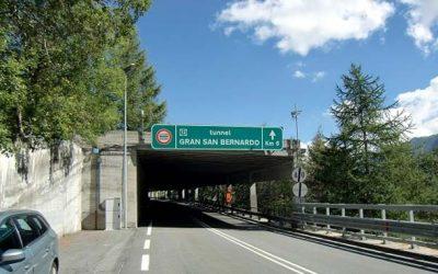 Passaggio gratuito al Tunnel del Gran San Bernardo